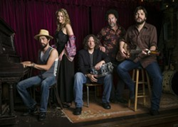 SUPERGROUP!:  Trigger Hippy—featuring Jackie Green, Joan Osborne, Black Crowes co-founder Steve Gorman, and others—plays SLO Brew on Oct. 5. - PHOTO COURTESY OF TRIGGER HIPPY