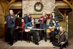 THE HOLIDAYS TAKE :  Leahy performs their holiday show on Dec. 2 in the Performing Arts Center's Cohan Center. - PHOTO COURTESY OF CAL POLY ARTS
