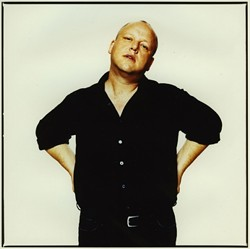 THERE'S STILL A LITTLE PIXIE IN THERE :  Black Francis, former Pixies front man Frank Black, returns to SLO Town to support his great new album Bluefinger on Oct. 14 at Downtown Brew. - PHOTO COURTESY OF FRANK BLACK