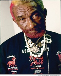"REGGAE HERO :  Jamaican-born Lee ""Scratch"" Perry is one of the most influential and brilliant reggae and dub musicians ever, and he's coming to Downtown Brew on Tuesday, July 31. - PHOTO BY DREW GOREN"
