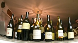 WINES ON PARADE:  Sixteen bottles and countless brain cells were sacrificed to bring New Times readers the truth about wine expertise. - CHRISTOPHER GARDNER
