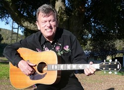 "PICK THIS :  ""Travis style picker"" Don Lampson will perform his original music along with the songs of other popular guitar players at The Porch on April 6. - PHOTO COURTESY OF DON LAMPSON"