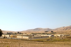 OPEN UP :  San Luis Obispo County California Mens Colony is one of 33 state prisons that will be more open to media if a recent State Senate bill makes it past the governors desk. - PHOTO BY JESSE ACOSTA