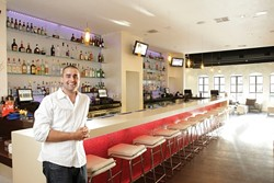 """BAR MAN :  Sean Faries calls the recently opened Native lounge and bar """"a hybrid of fun and sophistication."""" - PHOTO BY STEVE E. MILLER"""