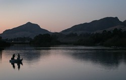 LAGUNA LAKE: - CHRISTOPHER GARDNER