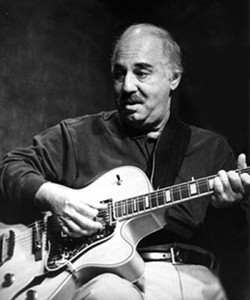 JAZZIN YOU UP :  Guitarist Ron Anthony plays the next installment of the Famous Jazz Artist Series at the Hamlet in Cambria on May 6. - PHOTO COURTESY OF RON ANTHONY