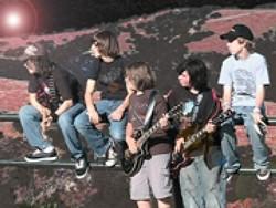 YOUNG ROCK GODS :  Refuge, a rock quintet comprised of 12- to 14-year-old middle schoolers, plays Arroyo Grande's Rock n Dog on Sept. 14. - PHOTO COURTESY OF REFUGE