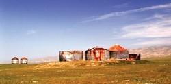 """""""CARRIZO GRANARIES� SECOND PLACE LAND/SEASCAPE COLOR: - BONNIE HEIKES"""