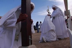 HAIL SOMEBODY :  Spirituality plays an important role in Desert Dreamers, as the various dreamers reveal their own version of religion or spirituality and its role in their unorthodox lifestyle.