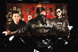 GET GREASY! :  Three Bad Jacks headline a killer roots rock show Oct. 25 at Downtown Brew. - PHOTO COURTESY OF THREE BAD JACKS