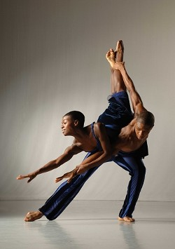 SMOOTH :  Rachael McLaren and Ephraim Sykes dance in Troy Powell's The External Knot. - PHOTO COURTESY OF EDUARDO PATINO