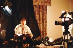 QUESTION MAN :  Filmmaker Ray Nowosielski wanted to create a 9/11 film from a facts-based approach. - PHOTO COURTESY OF RAY NOWOSIELSKI