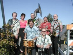 GOOD OLD FASHIONED FUN :  The second annual Village Summer Concert Series begins on June 10 at the Rotary Bandstand on the Village Green in the Historic Village of Arroyo Grande with The Mud Skippers (pictured) and the 24-member Nipomo High School Jazz Band. - PHOTO COURTESY OF THE MUD SKIPPERS