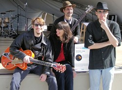 WARMING IT UP :  The Ballistic Cats will be blazing at Mother's Tavern on Dec. 23, performing for a special benefit concert to raise money to help poor and elderly folks pay their heating bills. - PHOTO COURTESY OF BALLISTIC CATS