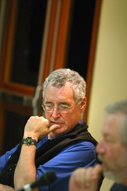 BRUCE ALMIGHTY :  Former CSD general manager Bruce Buel shouldered much of the malaise over Tri-W. He promptly made tracks for  Nipomo after the recall.
