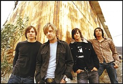 IF THEY HAD A HAMMER :  They'd hammer in the morning, but they're a rock band, so Switchfoot will play at the Cal Poly Rec Center on Nov. 28 and donate $1 from every ticket to Habitat for Humanity. - PHOTO COURTESY OF SWITCHFOOT