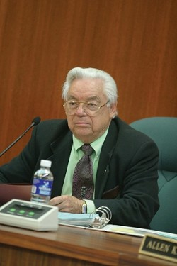 NOW OR NEVER:  Mayor Dave Romero worries that if voters veto The Marketplace, the county could approve the project on its own terms and the city would lose out on a great deal. - CHRISTOPHER GARDNER