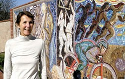PUBLIC ART PROMOTER :  Ann Ream, who sits on the SLO County Arts Council's Art in Public Places committee, has been a tireless promoter of public art not only in San Luis Obispo but also throughout the county, encouraging other towns to follow SLO's lead and adopt a comprehensive public art policy. - GLEN STARKEY