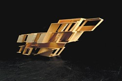 PLANES FLY, LITERATURE SOARS :  Hochung Kim's model of a library in an airport will be displayed Jan. 28. - PHOTO COURTESY OF THE CAL POLY ARCHITECTURE DEPARTMENT
