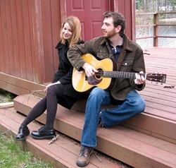 GET COMFORTABLE :  The Comforters, a folk-pop duo from Eugene, Oregon, play Linnaea's Cafe this June 30. - PHOTO COURTESY OF THE COMFORTERS