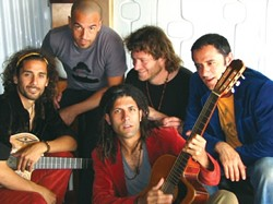 HOT AND COOL :  Argentinian musicians Los Pinguos will deliver a lively Latin mix at Castoro Cellars on Saturday, July 21. - PHOTO COURTESY OF LOS PINGUOS