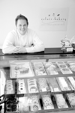 CLASSIC COOL :  Jeremy Davenport brings fresh style to classic fare at eclair in Arroyo Grande. - PHOTO BY JESSE ACOSTA