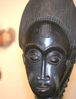 GURO CARVING:  From the Ivory Coast, Africa - GLEN STARKEY