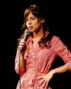 FUNNY GIRL :  Nastasha Leggero, a stand up comic with a reoccurring role on TV shows Reno 911 and 'Til Death, opens for comic Dan Grueter (not pictured) Sept. 28-29 at Bob Zany's Comedy Outlet. - PHOTO COURTESY OF NATASHA LEGGERO