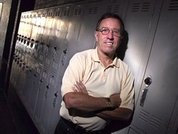 """A TEST IS A TEST IS A TEST:  Will Jones, principal of San Luis Obispo High School, believes good students will always excel regardless of test format, but """"overall, it comes down to the fact that multiple choice is the easiest one to score."""" - CHRISTOPHER GARDNER"""