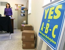 EASY AS A-B-C?:  It's up to the voters to decide April 26 if The Marketplace project is a good deal for the city of SLO. - CHRISTOPHER GARDNER