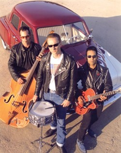RRRRRRRRRR!!!! :  The Chop Tops hotrod into Downtown Brew for a rockabilly grease fest on June 17. - PHOTO COURTESY OF THE CHOP TOPS