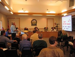 IS DESALTING THE ANSWER? :  Nipomo's Community Services District is gathering information for a decision about whether to move forward with a desalination facility to clean up salty groundwater. - PHOTO BY KATHY JOHNSTON
