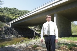 GREEN MAN :  Paavo Ogren is leading the county's Engineering Department into a green future. - PHOTO BY STEVE E. MILLER