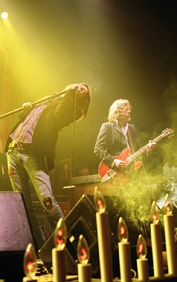 SHAKE YOUR MONEY MAKER :  The Black Crowes headline a three-band outdoor rock show at Pozo Saloon on Oct. 13. - PHOTO COURTESY OF THE BLACK CROWES