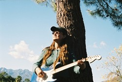 THE CONTENDER :  San Francisco folksinger Nina Jo Smith will be among more than a dozen songwriters featured the next West Coast Songwriters Showcase Competition: Sept. 2 at Linnaea's Cafe . - PHOTO COURTESY OF NINA JO SMITH