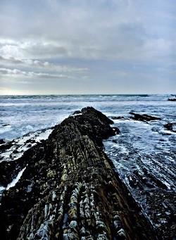 """""""FINGER OF GOD - MONTANA DE ORO� JUDGE'S PICK LAND/SEASCAPE COLOR: - CRIS MITCHELL"""
