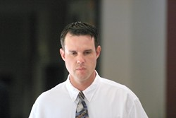 SENTENCED TO JAIL :  In September, a jury convicted Kenneth Freitas of vehicular manslaughter for the 2002 death of Sarah Scruggs, 17, in Grover Beach. A month later, Superior Court Judge Dodie Harman took into account the man's 10-year record of driving violations — and the fact that he'd spent six months in jail in 1999 for two road rage convictions — before giving him four months in prison and three years probation. Freitas shocked the courtroom by rejecting that ruling, and Harman subsequently sent him jail for a full year. The ruling is currently under appeal.