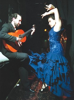 ARRIBA! :  Noche Flamenca travels from Madrid to bring you the heart and soul of flamenco at the Performing Arts Center on March 20. - PHOTO COURTESY OF CAL POLY ARTS