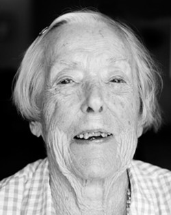 Dorothy Woolpert turns 100 on Aug. 13. - PHOTO BY STEVE E. MILLER