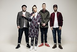 GET YOUR SKANK ON :  U.K. ska and reggae band The Skints (pictured) co-headline a bill with reggae act The Expanders on June 6 at Tap It Brewing Co. - PHOTO COURTESY OF THE SKINTS