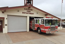 STAYIN' ALIVE:  The Cayucos Fire Protection District voted unanimously on July 7 to approve a 2016-17 budget for the Cayucos Fire Department. The department has struggled in recent years with recruiting paid-on-call firefighters. - PHOTO COURTESY OF CAYUCOS FIRE DEPARTMENT