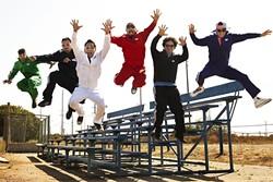 ARRIBA:  LA's amazing Latin, hip-hop, and rock act Ozomatli plays the fifth annual Avila Beach Tequila Festival at the Avila Beach Resort on May 28. - PHOTO BY CHRISTIAN LANTRY