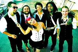 FUNKY TIME:  Sweet HayaH makes their SLO Town debut on May 6, at the Frog and Peach. - PHOTO COURTESY OF SWEET HAYAH