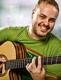 ACOUSTIC GUITAR MASTER:  The amazing Andy McKee plays Treana Tasting Cellar on May 14. - PHOTO COURTESY OF ANDY MCKEE