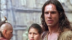 OUR HERO!:  Daniel Day Lewis stars as Nathaniel Poe, aka Hawkeye, the adopted son of a dying Indian tribe. - PHOTO COURTESY OF MORGAN CREEK PRODUCTIONS