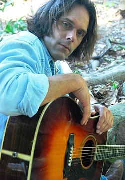 COWBOY ROCKER:  Los Angeles based singer-songwriter Chris Laterzo brings his thoughtful songs to Steynberg Gallery on April 29. - PHOTO COURTESY OF CHRIS LATERZO