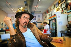 STORYTELLER:  Like his 'Lonesome Dove' author father Larry, James McMurtry has a way with words. He plays the Live Oak Music Festival—June 17 through 19—at Camp Live Oak near Lake Cachuma. - PHOTO COURTESY OF JAMES MCMURTRY