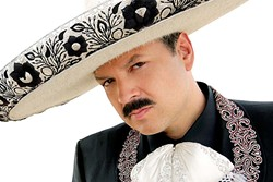 MEXICAN BARRY WHITE:  Pepe Aguilar will bring his mariachi, ranchero, and balladry to Vina Robles Amphitheatre on July 7. - PHOTO COURTESY OF PEPE AGUILAR