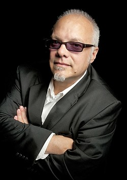 """BLUES BROTHER :  Curtis Salgado, credited with helping John Belushi create """"Joliet"""" Jake Blues, plays the SLO Vets Hall on May 14. - PHOTO COURTESY OF CURTIS SALGADO"""