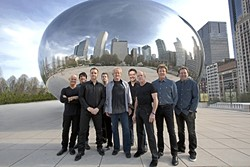 'WISHING YOU WERE HERE':  Best sellers Chicago plays Vina Robles Amphitheatre on June 29, bringing their rock and horns sounds to the Central Coast. - PHOTO COURTESY OF CHICAGO